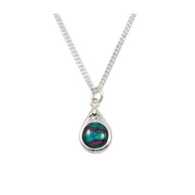 Heathergem Small Tear Drop Pendant HP15