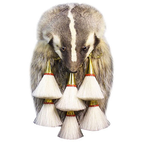 Badger Full Mask Brass Tassle MSF1016