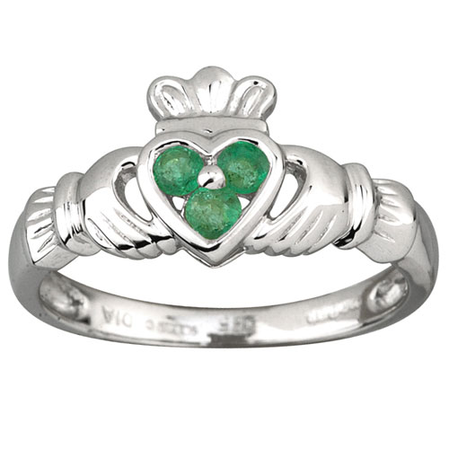 3-Emerald-Heart-Claddagh-White-Gold-Ring-S2621