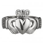 Ladies-Claddagh-Ring-14kt-White-Gold-S2617
