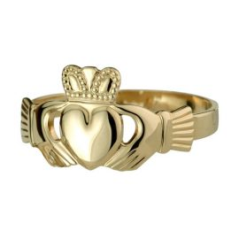 Ladies-Claddagh-Ring-14kt-Yellow-Gold-S2980