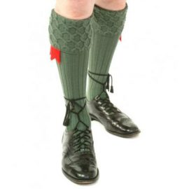 Lewis-Hose-Lovat-Green with Shoes