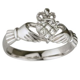 14K-White-Gold-Diamond-Claddagh-Gold-Ring-S2704