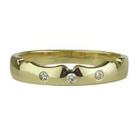 18kt Yellow Gold Wedding Band S2637