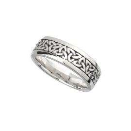 Gents Trinity Knot Ring Sterling Silver S21012