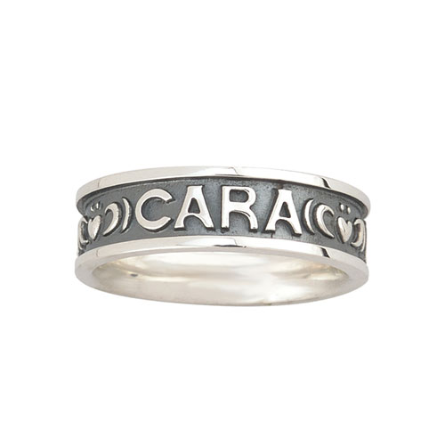 Ladies Mo Anam Cara Ring Sterling Silver S2842