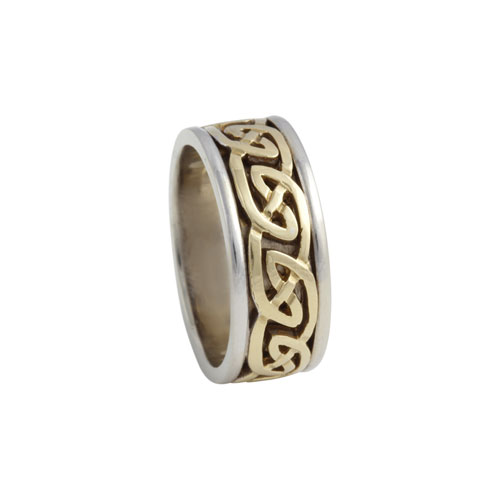 Blair Celtic Knot Ring Small 14kt Gold KELKAR07S