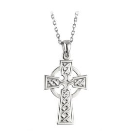 Celtic Cross Large Sterling Silver S4934