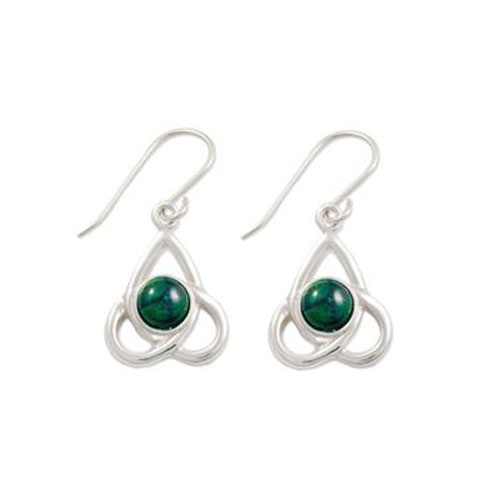 Heathergem Celtic Knot Drop Earrings SE45