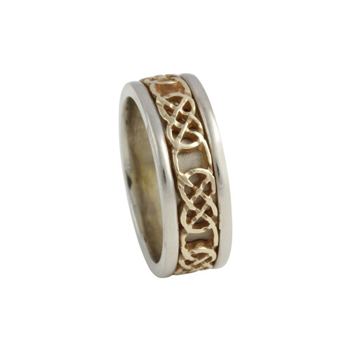 Kilkenny Celtic Knot Ring Small 14kt Gold KELKAR02S