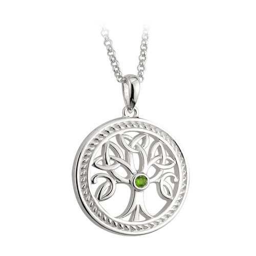Tree of Life Pendant Large Sterling Silver S44684