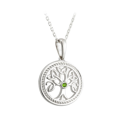 Tree of Life Pendant Small Sterling Silver S45365