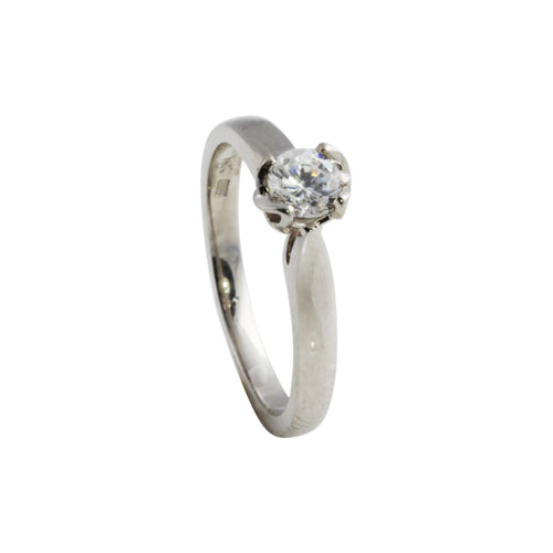 Trinity Knot Diamond Ring with Trinity Knot in Mount KELKER07