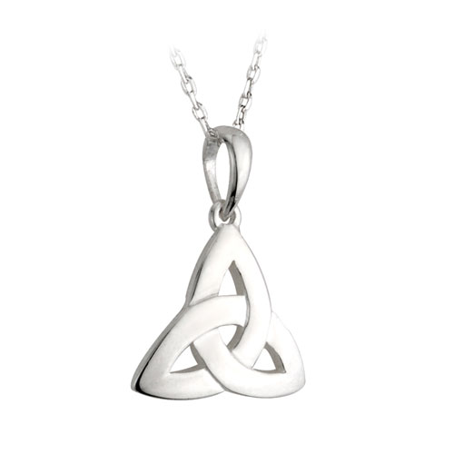 Trinity Knot Pendant Small Sterling Silver S4089