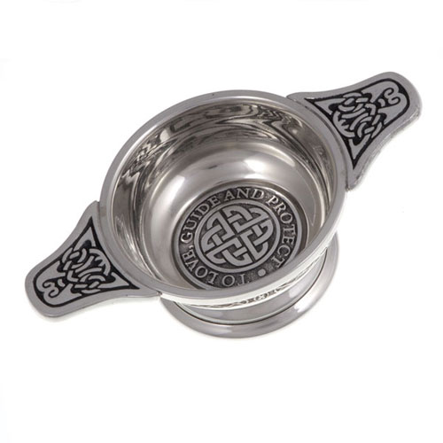 Wedding Vow Quaich To Love Guide and Protect QU131