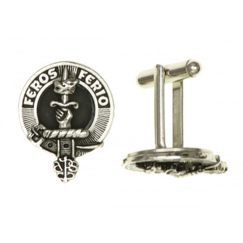 Clan Crest Cufflinks Pewter APSC999