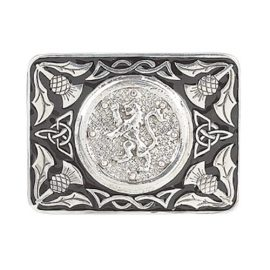 lion-rampant-black-enamel-buckle-polished-pewter