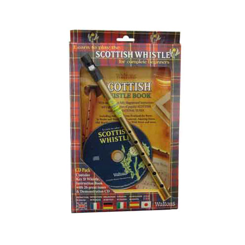 Tin-Whistle-with-Instruction-Book-CD-Scottish