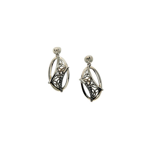 Trinity Earrings White Topaz PEX8084