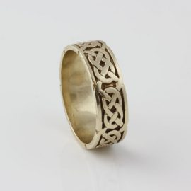 Celtic Gate 10kt Yellow Gold