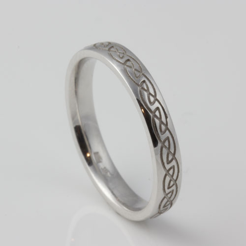 Engraved-Eternal-Knot-10kt-White-Gold