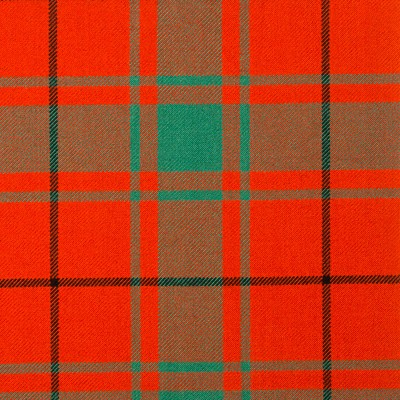 MacDonald of the Isles Red Ancient Strome HW Tartan