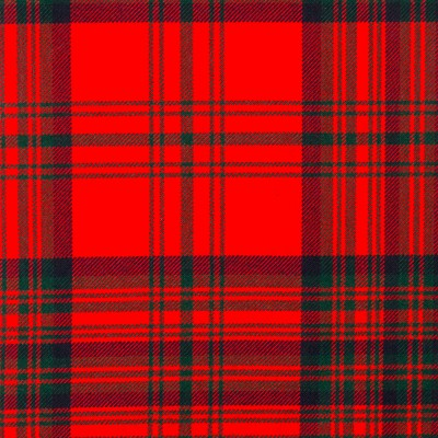 Matheson Red Modern Strome HW Tartan