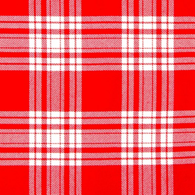 Menzies Red White Modern Strome HW Tartan