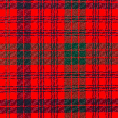 Ross Red Modern Strome HW Tartan