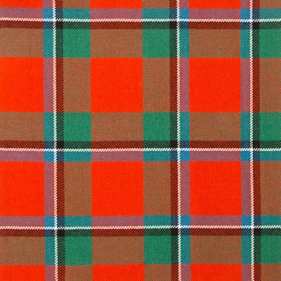 Sinclair Red Ancient Strome HW Tartan
