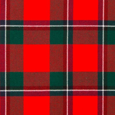 Sinclair Red Modern Strome HW Tartan