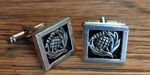 Cufflinks, Tie Bars, Etc