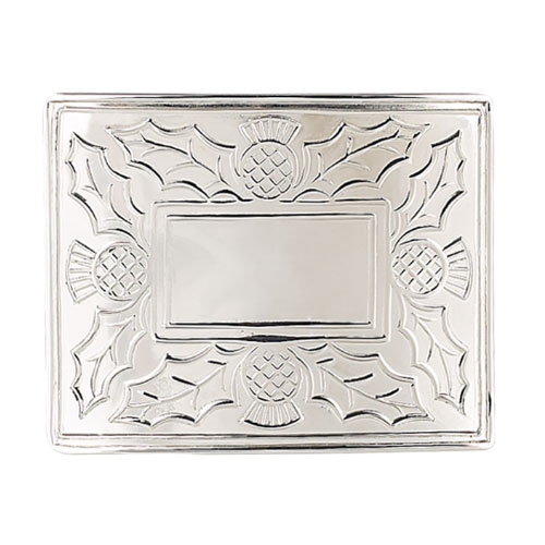 Thistle Economy Belt Buckle